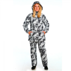Зимний женский костюм Барс